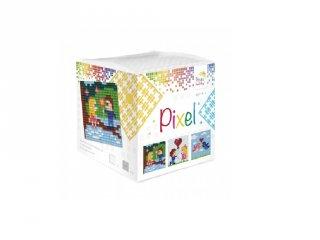 Pixelhobby, Pixel kocka, Valentin (29017, 3db 6x6 cm-es képhez, 7-99 év)