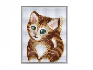 Pixelhobby, Pixel XL 4 alaplapos készlet, Kiscica (28010, 4 db 10x12 cm-es alaplap, XL színek, 4-10 év)