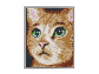 Pixelhobby, Pixel XL 4 alaplapos készlet, Macska (28024, 4 db 10x12 cm-es alaplap, XL színek, 4-10 év)