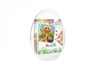 Pixelhobby, Pixel XL Húsvéti tojás, kacsák (28703, 2db 6x6 cm-es alaplap + 6 szín, 4-6 év)