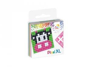 Pixelhobby, Pixel XL készlet, boci (27018, 1db 6x6 cm-es alaplap, 4 szín, 4-6 év)