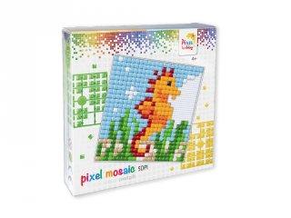 Pixelhobby, Pixel XL készlet, csikóhal (41013, 12x12 cm-es alaplap, XL színek, 4-6 év)