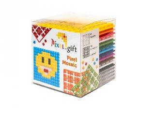 Pixelhobby, Pixel XL készlet, emoji (24101, 4db 6x6 cm-es képhez, 4-6 év)