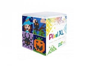Pixelhobby, Pixel XL készlet, Halloween (24119, 4db 6x6 cm-es képhez, 4-6 év)