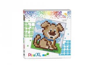 Pixelhobby, Pixel XL készlet, Kutya (41007, 12x12 cm-es alaplap, XL színek, 4-6 év)