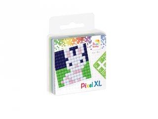 Pixelhobby, Pixel XL készlet, nyuszi (27008, 1db 6x6 cm-es alaplap, 4 szín, 4-6 év)