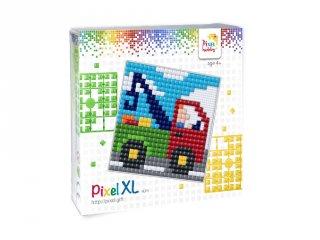 Pixelhobby, Pixel XL készlet, teherautó (41031, 12x12 cm-es alaplap, XL színek, 4-6 év)