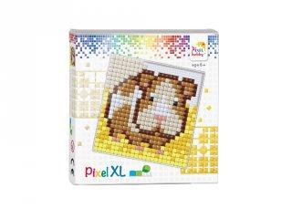 Pixelhobby, Pixel XL készlet, Tengerimalac (41014, 12x12 cm-es alaplap, XL színek, 4-6 év)