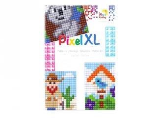 Pixelhobby, Pixel XL mintafüzet (21077, ötletfüzet 10x12 cm-es alaplaphoz, 4-6 év))