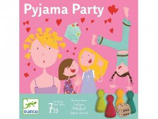 Pizsama parti (Djeco, 8448, parti társasjáték lányoknak, 7-14 év)