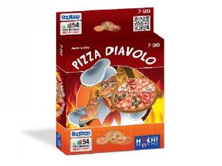 Pizza Diavolo (térlátást fejlesztő logikai játék, 6-99 év)