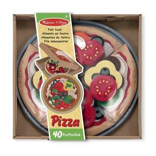 Pizza készítő szett (Melissa Doug, konyhai szerepjátékokhoz, 2-5 év)