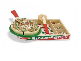 Pizza Party, Melissa&Doug főzős szerepjáték fából (3-7 év)