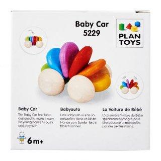 Plan Toys autó, fa bébijáték