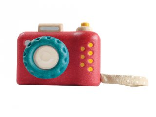 Plan Toys Az első fényképezőgépem, fa szerepjáték