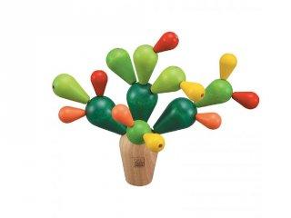 Plan Toys egyensúlyozó kaktusz, fa stratégiai társasjáték