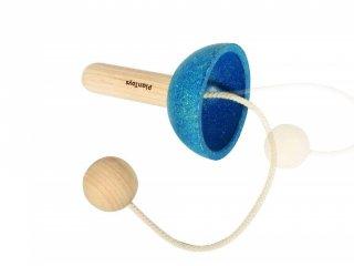 Plan Toys golyó elkapó ügyességi játék fából