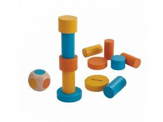 Plan Toys rakd kazalba, fa ügyességi társasjáték