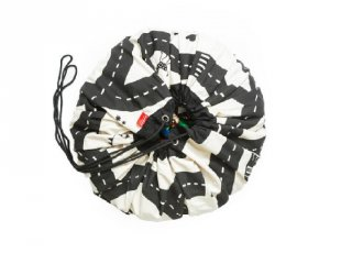 Play&Go játéktároló zsák, Autópálya (140 cm)