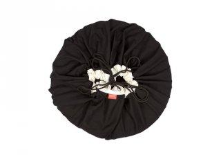 Play&Go játéktároló zsák, Klasszikus fekete (140 cm)