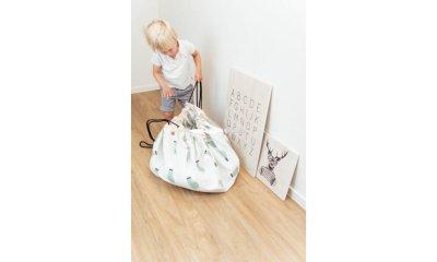 Play&Go játéktároló zsák, Vonatos (140 cm)