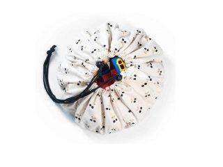 Play&Go mini játéktároló zsák, Cseresznye (40 cm)