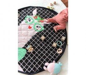 Play&Go soft játéktároló zsák, Láma (140 cm)