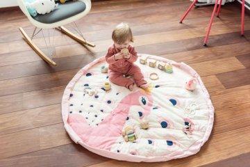Play&Go soft játéktároló zsák, Páva (140 cm)