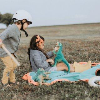 Play&Go vízlepergetős játéktároló zsák, Outdoor zöld (140 cm)