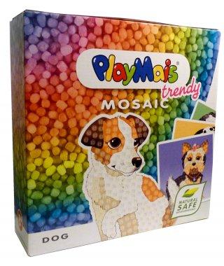 PlayMais trendy MOSAIC, Kutyák (Playmais, Dog, kreatív összeépítős játék, 8-12 év)
