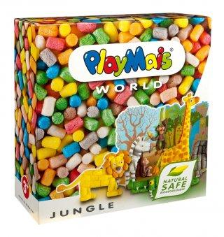 PlayMais WORLD, Dzsungel (Playmais, Jungle, kreatív összeépítős játék, 5-8 év)