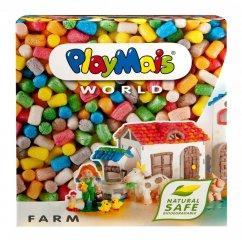 PlayMais WORLD, Farm (Playmais, Farma, kreatív összeépítős játék, 5-8 év)