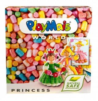 PlayMais WORLD, Hercegnők (Playmais, Princess, kreatív összeépítős játék, 5-8 év)