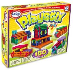 Playstix 150 (150 db-os építőjáték készlet, kreatív építőjáték, 3-99 év)