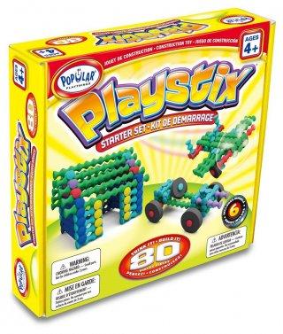 Playstix kezdő készlet, ötletfüzettel (Popular, 80 db-os kreatív építőjáték, 3-99 év)