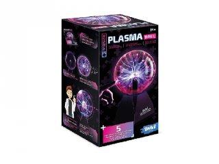 Plazma dekor lámpa 5 kísérlettel, Buki tudományos készlet