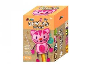 Plüss ceruzadísz varrás Cica, kreatív játék (Avenir, 5-10 év)