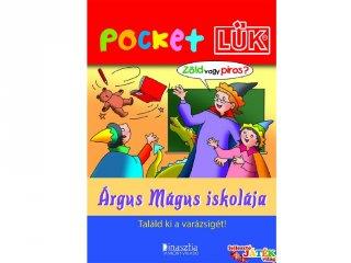Pocket Lük, Árgus Mágus iskolája (egyszemélyes, logikai fejlesztőjáték, 6-10 év)