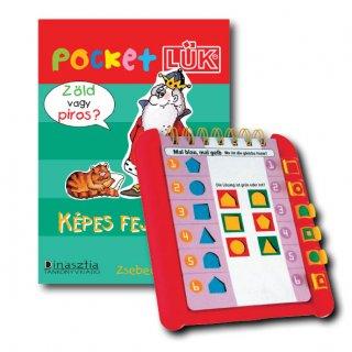 Pocket Lük, Képes fejtörők + alaplap (egyszemélyes fejlesztőjáték, 4-6 év)