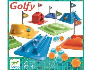 Pöckölős minigolf (Djeco, 2001, ügyességi társasjáték, 7-12 év)
