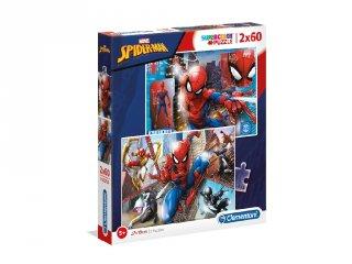 Pókember 2 az 1-ben Supercolor kirakó, 2x60 db-os puzzle (CLEM, 5-7 év)