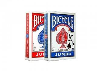 Póker kártya, Bicycle Rider Back (Fournier, 1004949, dupla, jumbo index kártyajáték, 8-99 év)
