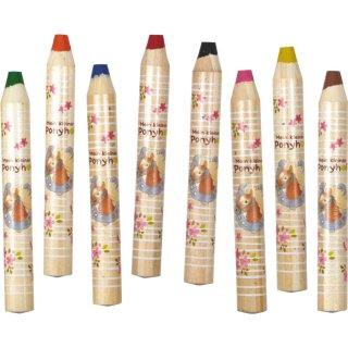 Pónilovas XXL színes ceruza, Spiegelburg 8 db-os kreatív készlet (15625, 1-5 év)