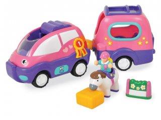 Poppy, a lószállító autó (Wow Toys, lovas jármű, 1-5 év)