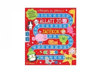 Pörgess és játssz! Állati jó játékok egy könyvben (MO, 6-8 év)
