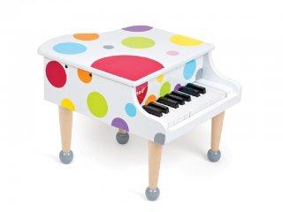 Pöttyös nagy zongora (JD, fa hangszer, 3-12 év)