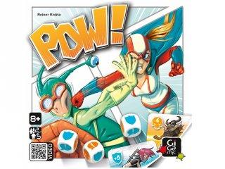 POW!, társasjáték szuperhősökkel (GIG, lapgyűjtögetős kockajáték, 8-99 év)