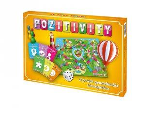 Pozitivity, a pozitív gondolkodás társasjátéka, alapcsomag (6-99 év)