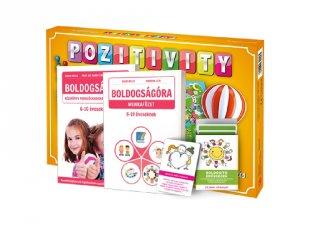 Pozitivity, a pozitív gondolkodás társasjátéka, gyermek plusz csomag (6-10 év)