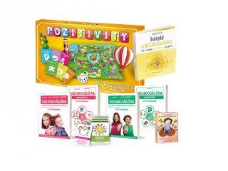 Pozitivity, a pozitív gondolkodás társasjátéka, óriás csomag (6-99 év)